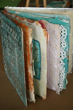 """RECYCLED PAGES"" - Donna Downey Studios Inc"