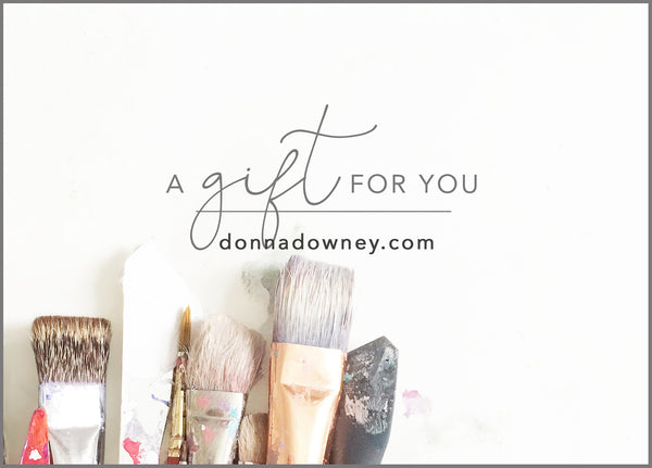 Gift Card - Donna Downey Studios Inc