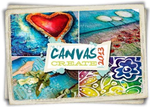 CANVAS CREATE 2013  Series - Donna Downey Studios Inc - 2