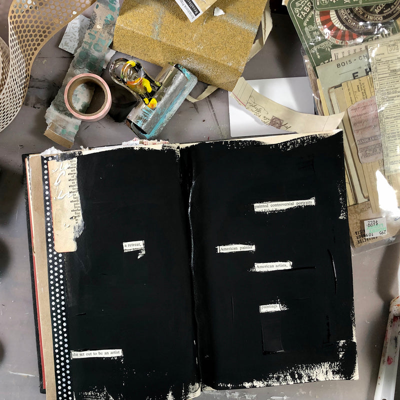 LIVE ONLINE - Art of the Altered Book