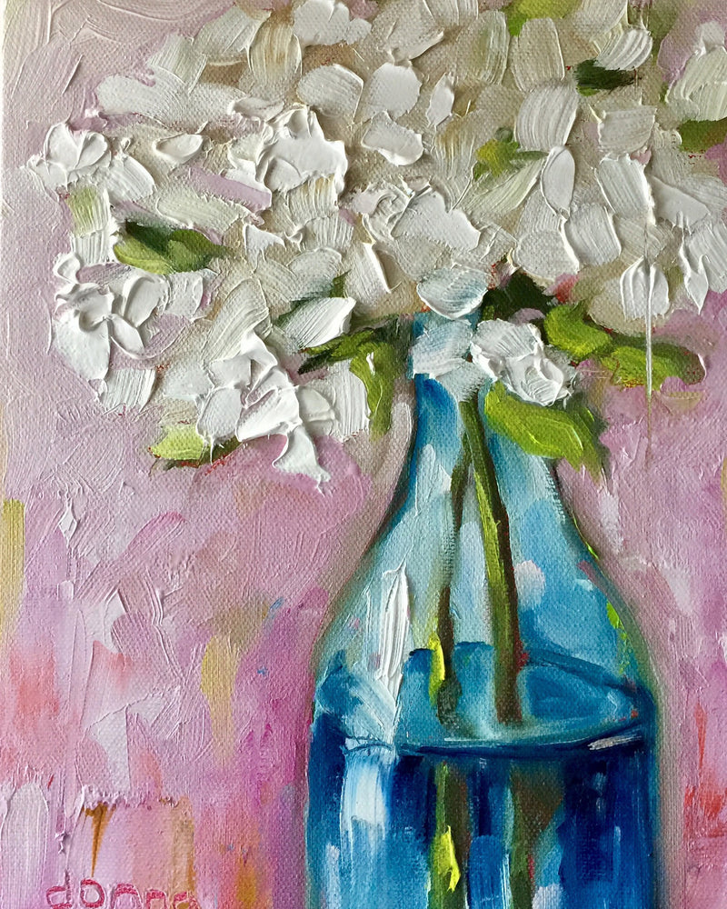 Expressive Flowers (OIL or ACRYLIC) | Online Workshop - Donna Downey Studios Inc