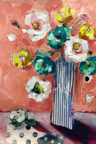 Mixed-Media Florals | Online Workshop