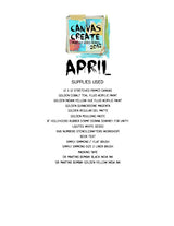 #4 Canvas Create Series - Donna Downey Studios Inc