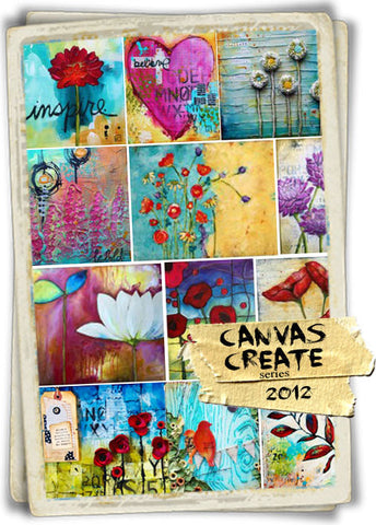 Canvas Create Series 2012 - All 12 Months - Donna Downey Studios Inc - 2