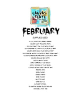 #2 Canvas Create Series - Donna Downey Studios Inc