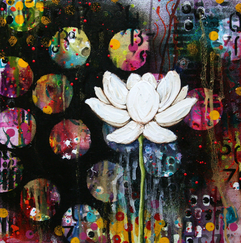 """Dark Lotus"" - Donna Downey Studios Inc"