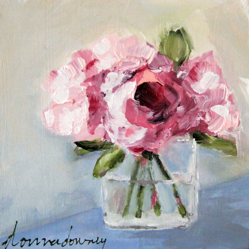 """Abstract Florals"" Online Workshop - Donna Downey Studios Inc"