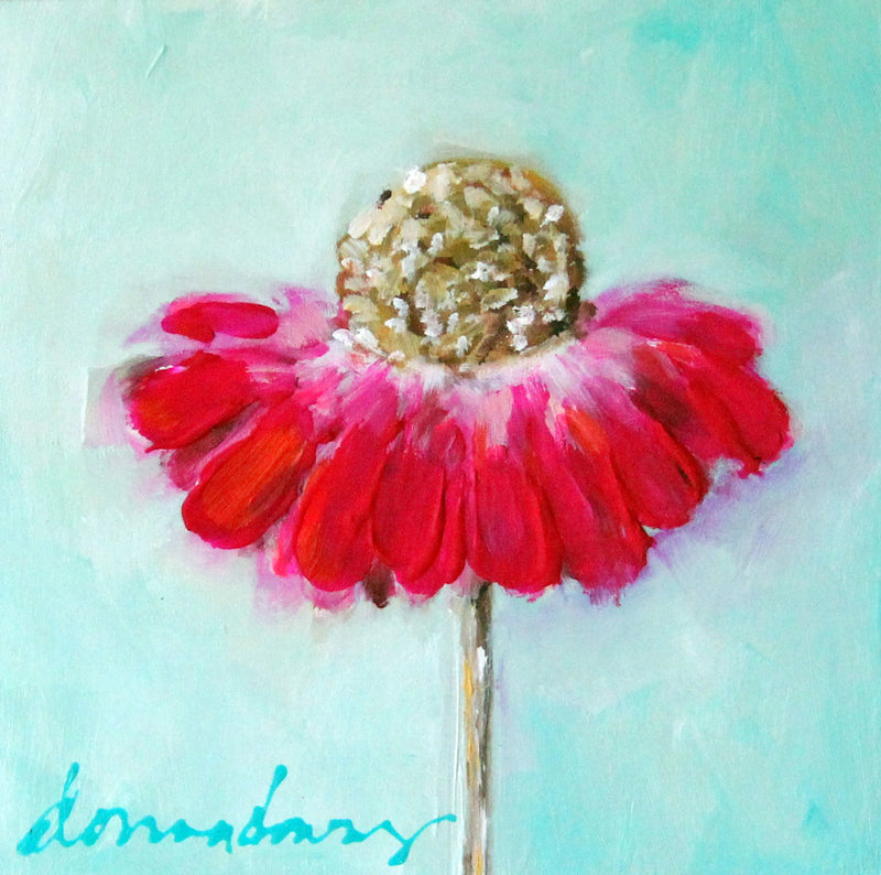 Abstract Florals (ACRYLIC) | Online Workshop - Donna Downey Studios Inc