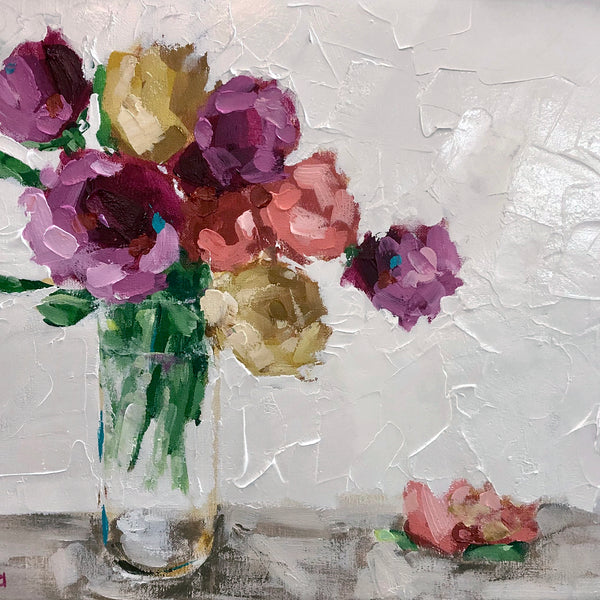 LIVE ONLINE - Fearless Florals Acrylic