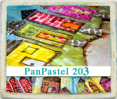 "VIDEO WORKSHOP: PanPastel 203  ""pretty little houses"" - Donna Downey Studios Inc - 2"