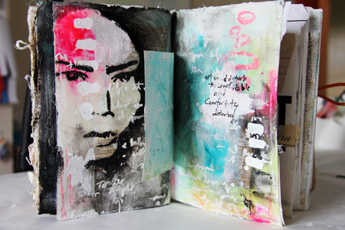 Inspiration Wednesday : 2015 (MIXED-MEDIA) - Donna Downey Studios Inc
