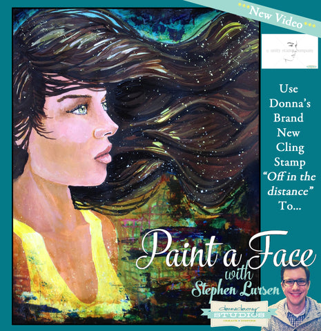 """Painting the face I"" Online Workshop - Donna Downey Studios Inc"