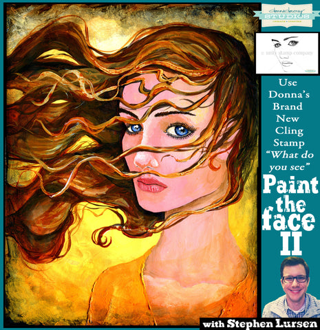 Painting the face II - Online Workshop - Donna Downey Studios Inc