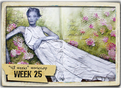 48 Weeks (MIXED-MEDIA) - Donna Downey Studios Inc