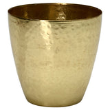 Hammered Gold Pot