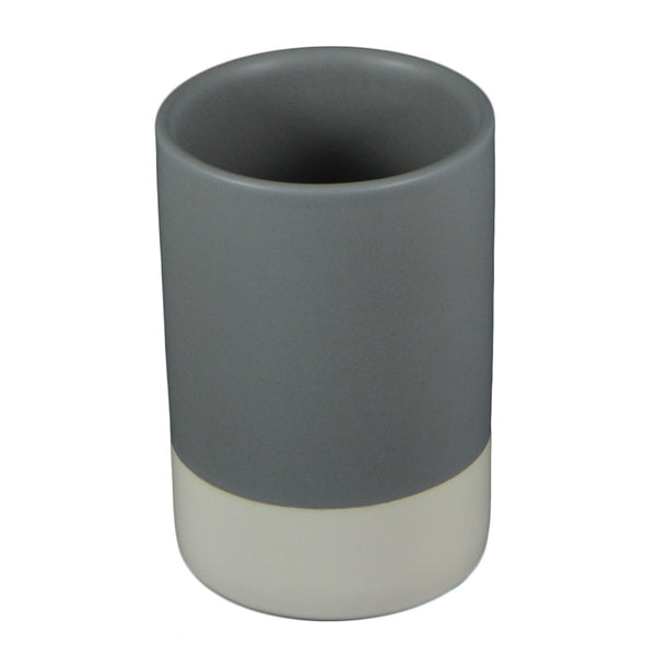 Bi-Colour Ceramic Beaker 12x8cm