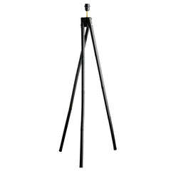 Bamboo lamp large 122cm - Black
