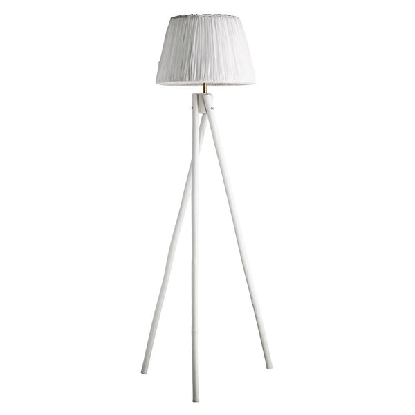 Bamboo lamp large 122cm - White ONE LEFT
