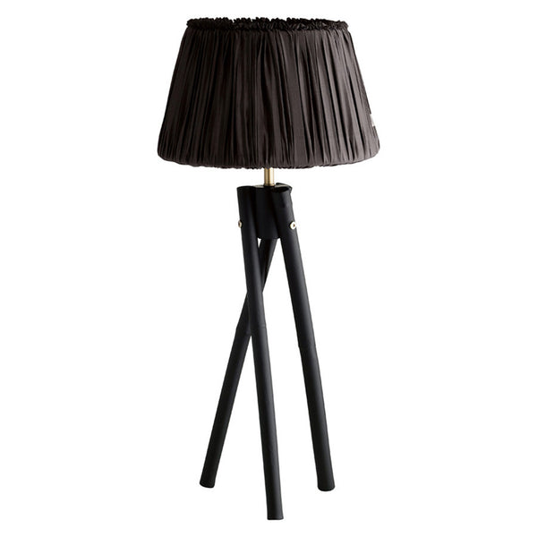 Bamboo lamp medium 52cm - Black