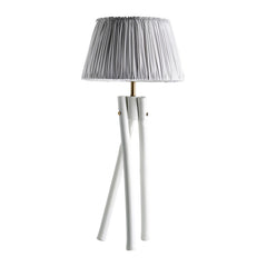 Bamboo lamp medium 52cm - White