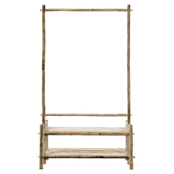 Bamboo wardrobe, natural