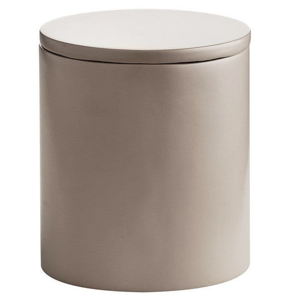Cylindrical Tea Caddy/Storage box