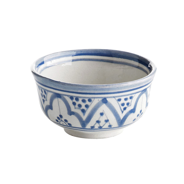 Hand Painted Moroccan Ceramic Bowl 10cm
