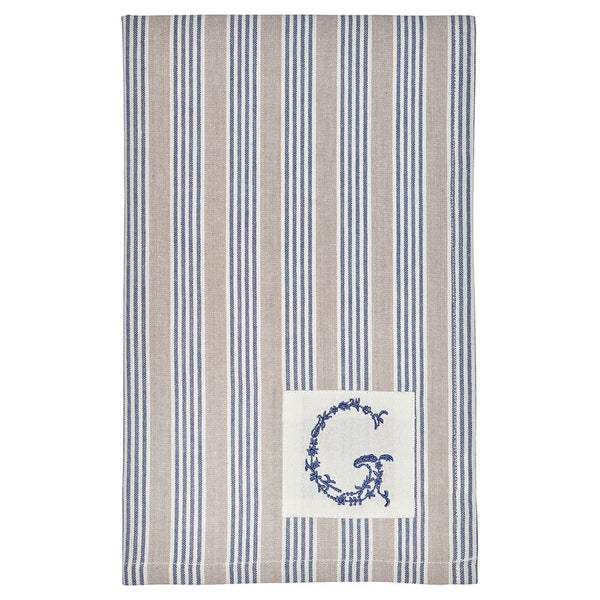 Tea Towel - Nora Blue