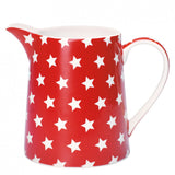 Greengate Star Red Jug .5l