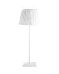 Minimal Lamp with Base White - Danish Designer