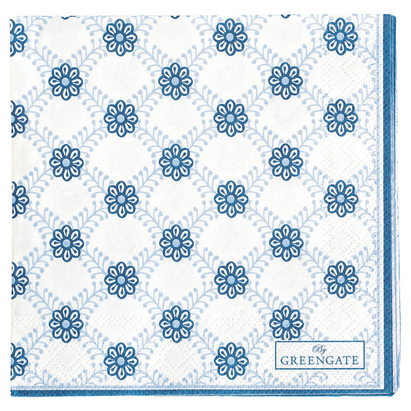 Paper Napkins - Lolly Blue 20 pcs