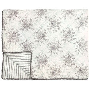 Greengate Quilt Sophie Warm Grey 140 x 220