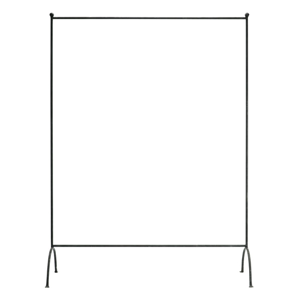 Iron Hanging Wardrobe Rail 120cm