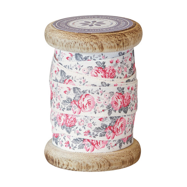 Ribbon on Vintage Spool - Vilma Vintage 15mm x 5m