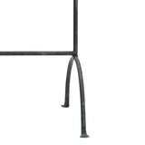 Iron Hanging Wardrobe Rail 100cm