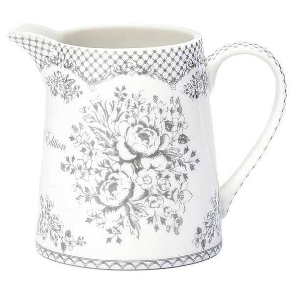 Greengate Jug .5 Lt.  Stephanie Warm Grey