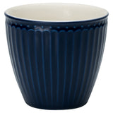 Latte Cup  - Alice Dark Blue