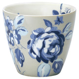 Latte Cup - Amanda Dark Blue