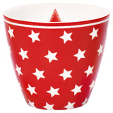 Latte Cup - Star Red