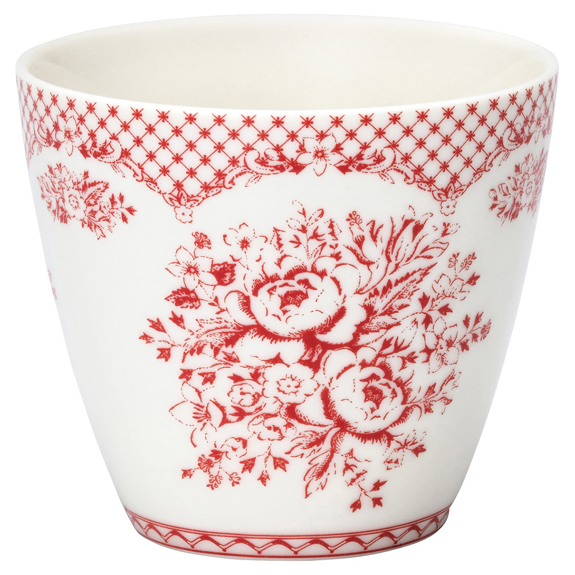 Latte Cup - Stephanie Red