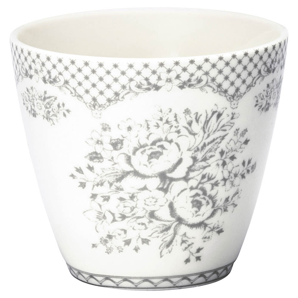 Latte Cup - Stephanie Warm Grey