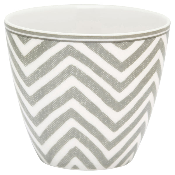 Latte Cup - Ziggy Warm Grey