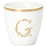 "Greengate Mini Latte Cup  - ""G"" Gold"