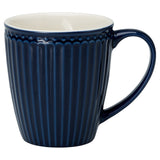 Mug  - Alice Dark Blue