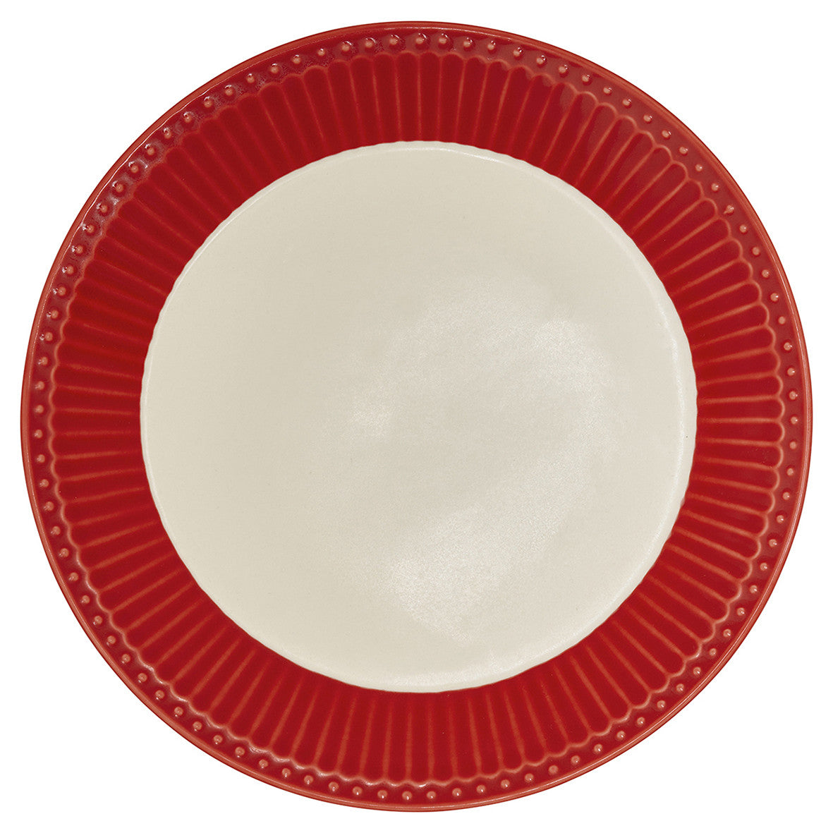 Plate Alice - Red