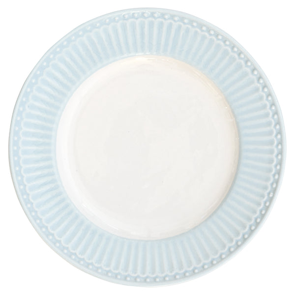 Plate Alice - Pale Blue