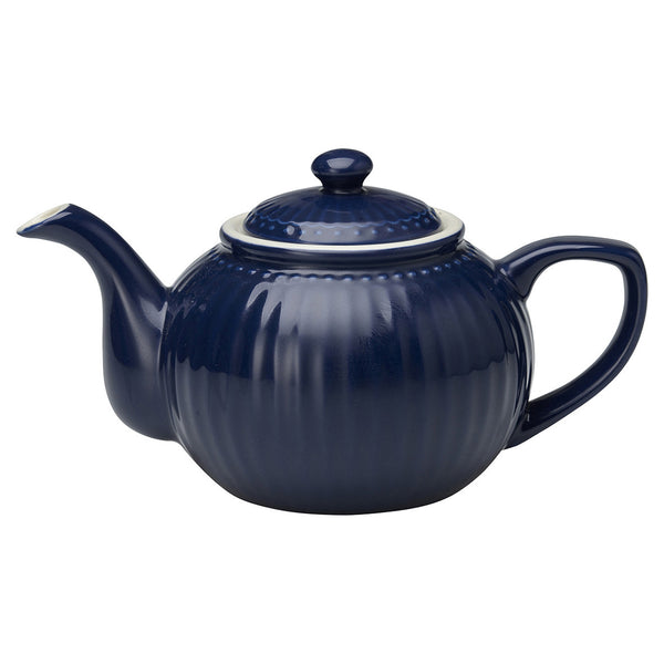 Tea Pot Alice - Dark Blue