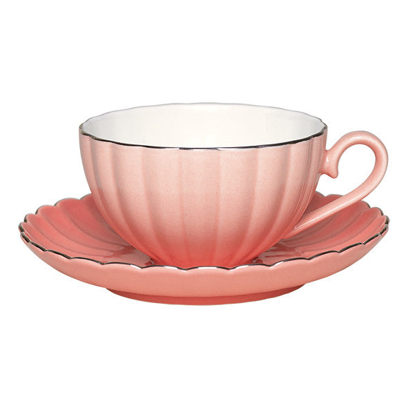 Greengate - Cup and Saucer - Pink