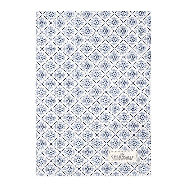 Tea Towel - Oona Blue