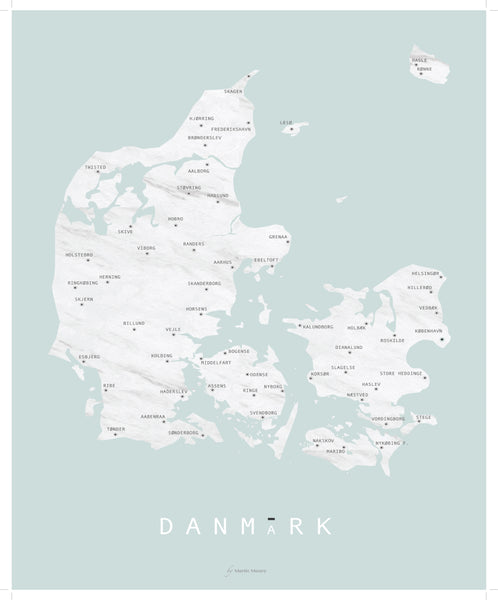 Denmark Mint - By Martin Moore